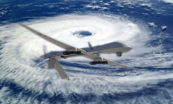 Man-made particles lowered hurricane frequency study
