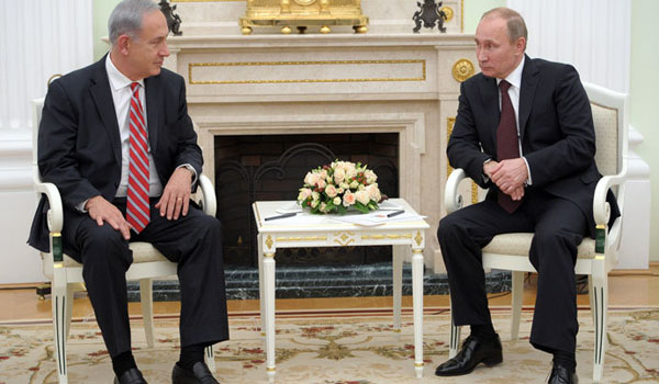 Netanyahu to Putin Resolve Iran like you did Syria