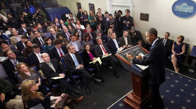 Press gets heated with White House over access