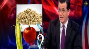Video: Colbert On Washington GMO Labeling: 'Questioning What's On Your Plate Is Un-American'