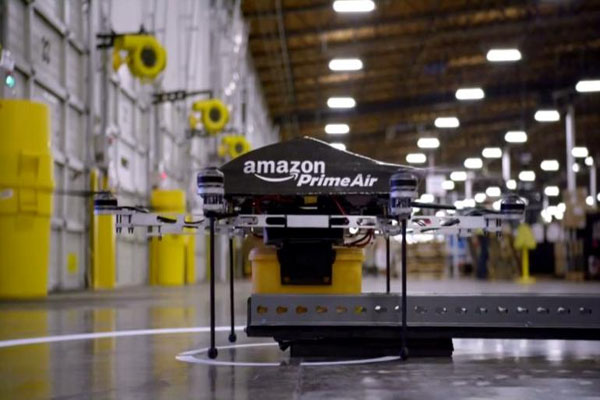 Amazon Prime Air Retailer unveils drone delivery service