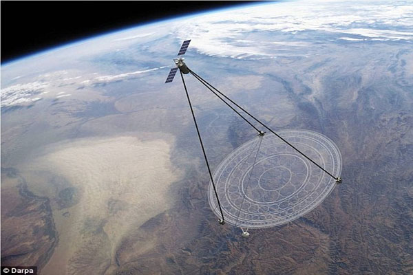 DARPA Designs Satellite Capable of Surveying 40 of Earth