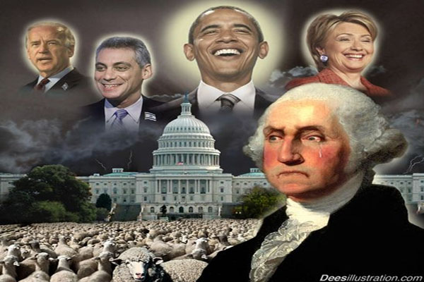 Did George Washington Predict America's Fall
