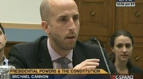 Expert Testifies to Congress that When Presidents 'Ignore the Laws,' So Will the Public