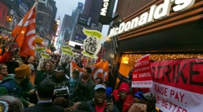 Fast food strikes across US cities show the American dream is becoming a nightmare