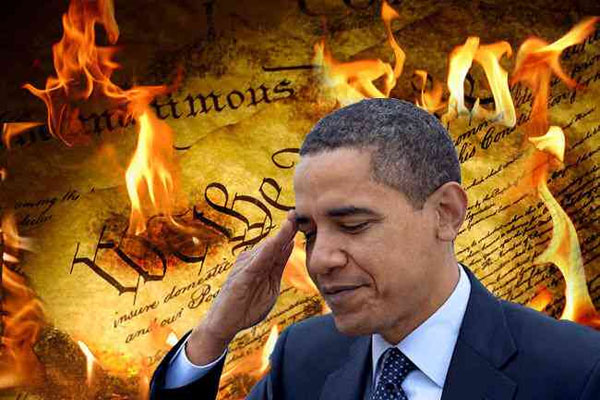 Obama's Disdain For The Constitution Means We Risk Losing Our Republic
