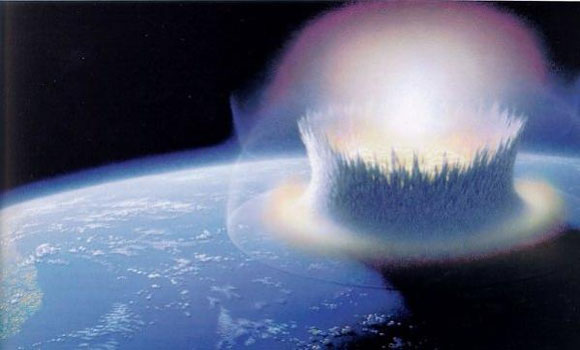 RUSSIA WARNS Asteroid Impact in Atlantic Ocean