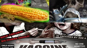 Soft Killing The American People Using Toxic Food, Toxic Water And Toxic Vaccines