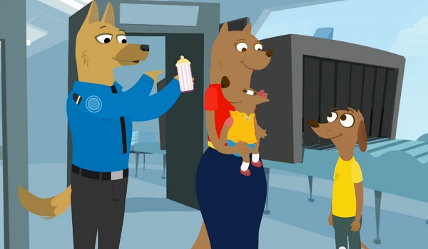 TSA releases cartoon animation to introduce kids to warrantless checkpoints