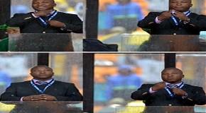 The 'fake' Mandela memorial interpreter said it all