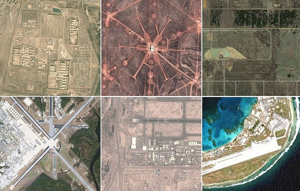 U.S. Army's secret military bases across the globe revealed on Google and Bing