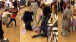Woman Repeatedly Uses STUN GUN During Black Friday Brawl