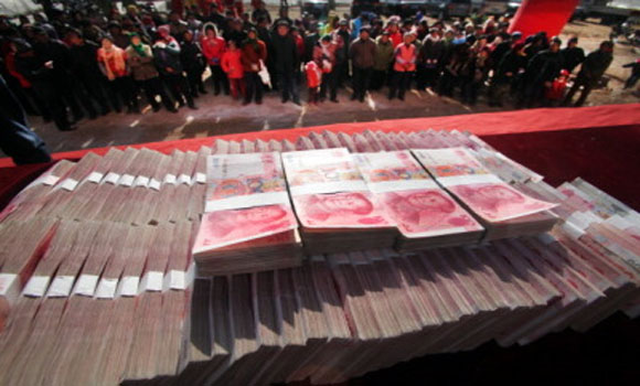 """""""Falta de dinheiro"""" na China leva a atenção mundial"""