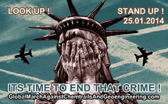 10 razões para se juntar à Marcha Global Contra Geoengenharia