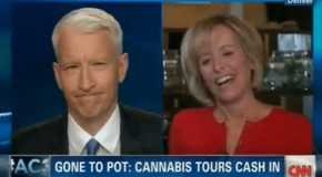 CNN Reporter gets high during Colorado marijuana legalisation report