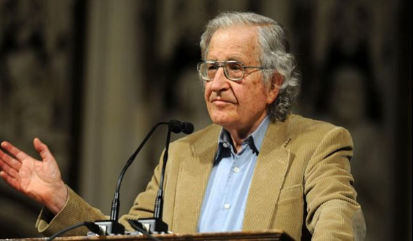 Chomsky warns about growing threat of nuclear war in 2014