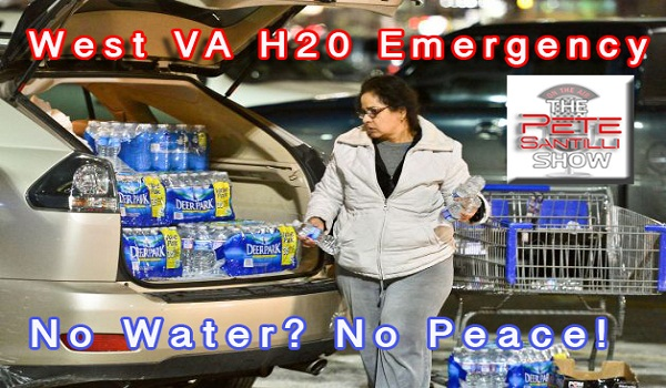 Civil Unrest Simmering In West Virginia Water Crisis – National Guard Assisting FEMA In Distribution of H2O