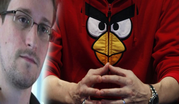 Edward Snowden NSA Used Angry Birds, Other Apps to Track People‏