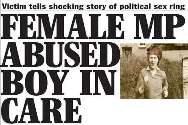 Female MP abused boy in care