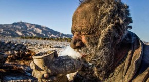 Iranian Man Hasn't Bathed In 60 years And Enjoys Smoking Animal