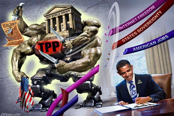 It's War - Stop The TPP & TAFTA
