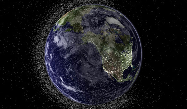 Japan To Test Magnetiic Net For Space Junk