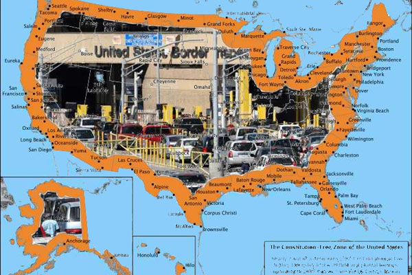 "Judge Rules Against 4th Amendment Rights in 100 Mile Wide ""Border"" Around Entire US"