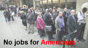No Jobs For Americans