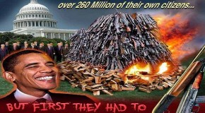 Obama's Gun Confiscation Plans Are a Prelude to Genocide