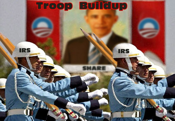 Obama Moves to Weaponize IRS