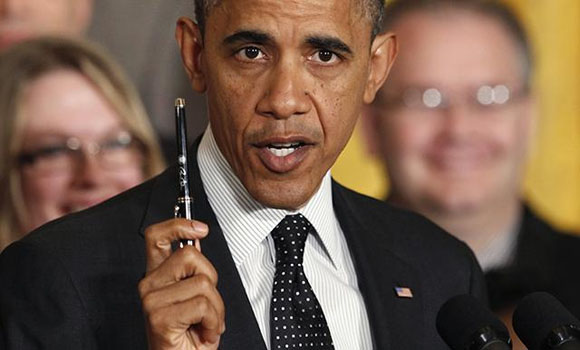 Obama On Executive Actions 'I've Got A Pen And I've Got A Phone'