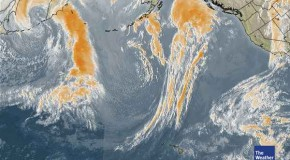 Satellite Photos Show Pacific Storms Stopped Cold, Destroyed