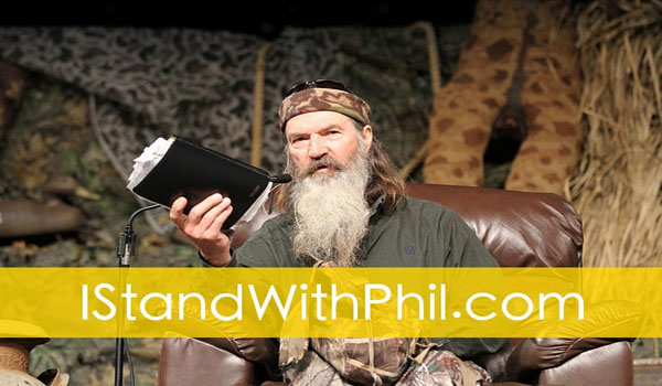 for Blocking Petition Supporting 'Duck Dynasty's' Phil Robertson