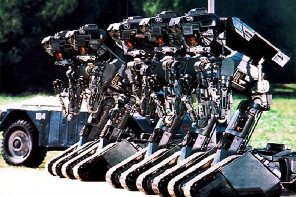 Exército dos EUA considera a substituição de milhares de tropas com robôs