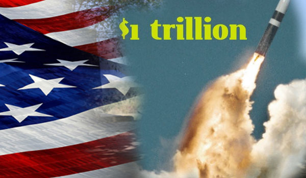 US to Spend $1 Trillion on Nuclear Weapons Over Next 30 Years