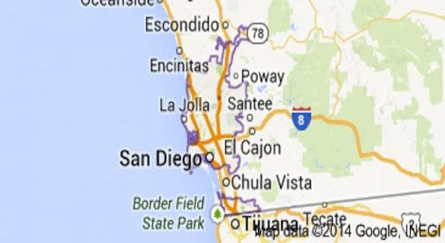 Vídeo Chemtrail explodiu sobre San Diego