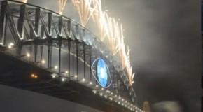 Video: Illuminati Eye In New Years Eve Fireworks Display – Australia