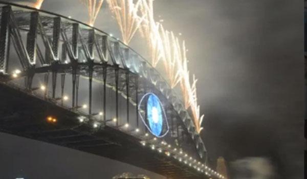 Video Illuminati Eye In New Years Eve Fireworks Display – Australia