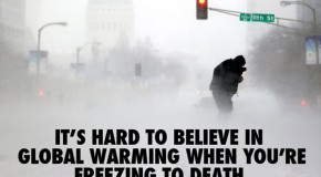 White House Climate Czar: 'Global warming causes extreme cold'