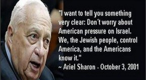 Zionists Covered Up Sharon's Horrific Words, Deeds