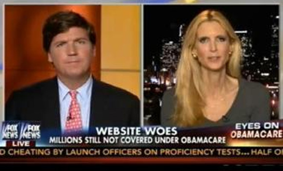 Ann Coulter tells horror story 'My friend's sister died today because of Obamacare'