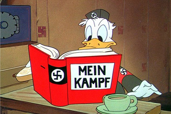 Anti-Zionist voice of Donald Duck sacked