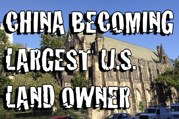 BOOM?: China Buying BILLIONS of U.S. Real Estate