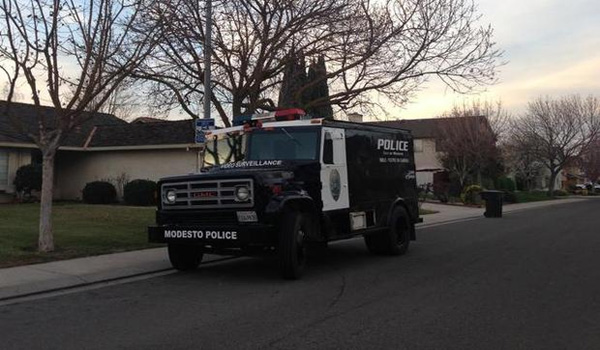 California Police Unveil Armored Surveillance Vehicle