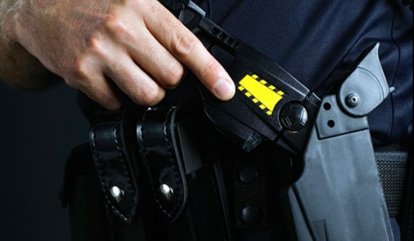 California police beat, taser deaf man