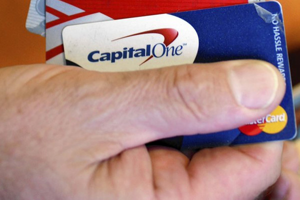 Capital One says it can show up at cardholders' homes, workplaces