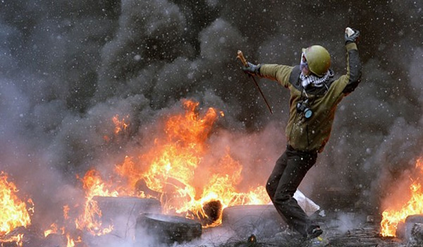 Democracy Murdered By Protest — Ukraine Falls To Intrigue and violence