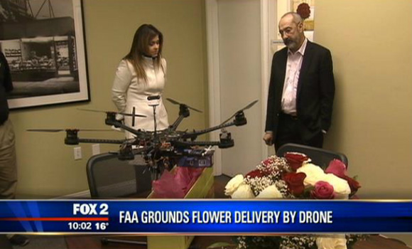 FAA Shuts Down Flower Drone-Delivery Service
