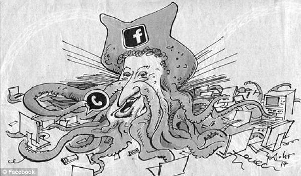 German Paper Called 'Anti-Semitic' For Zuckerberg Cartoon