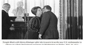 Henry Kissinger, Shirley Temple and MK Ultra